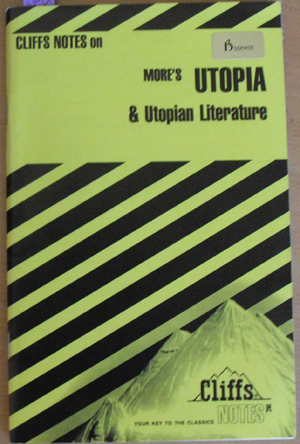 Image for Cliffs Notes on More's Utopia and Utopian Literature