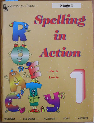 Image for Spelling in Action: Stage 1