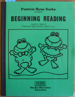 Image for Beginning Reading: Level A - Book 2
