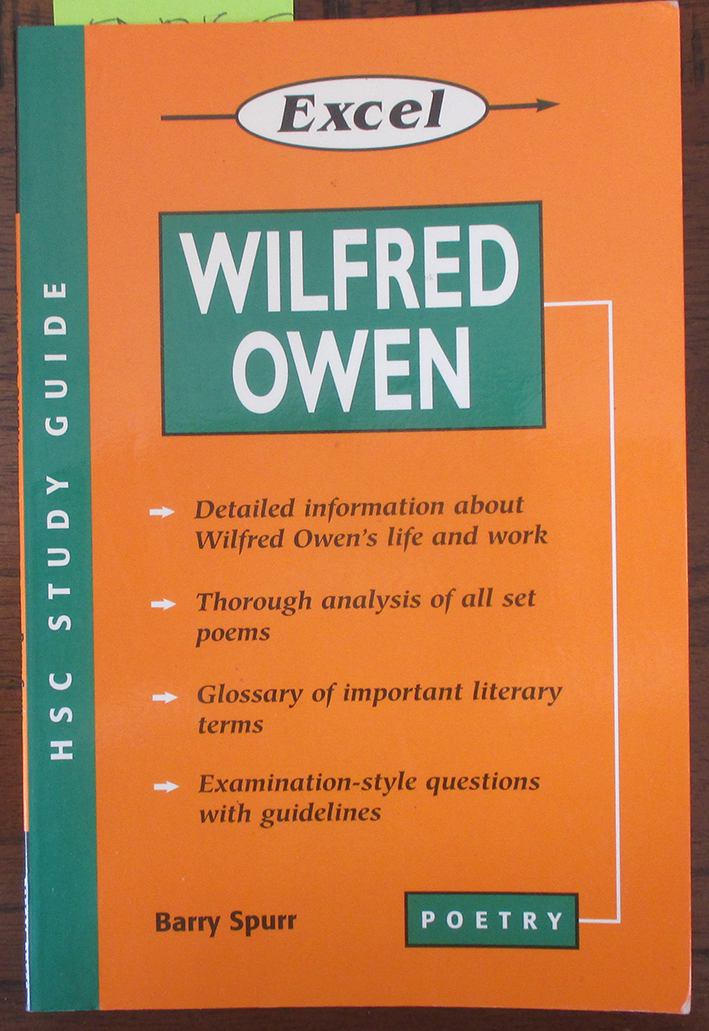 Image for Excel HSC English Study Guide: Wilfred Owen