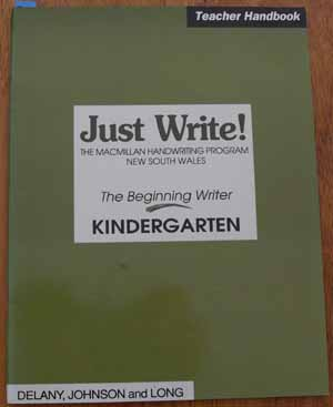 Image for Just Write!: The Macmillan Handwriting Program New South Wales: The Beginner Writer