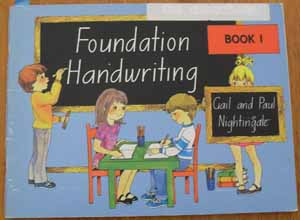 Image for Foundation Handwriting: Book 1