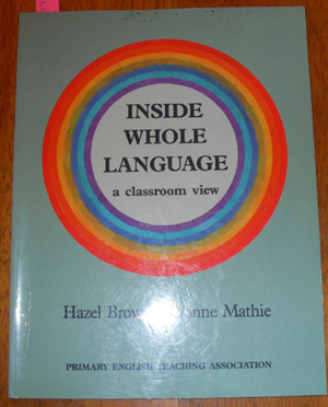 Image for Inside Whole Language: A Classroom View