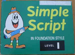 Image for Simple Script in Foundation Style: Level 1
