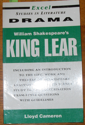 Image for Excel Studies in Literature Drama: William Shakespeare's King Lear