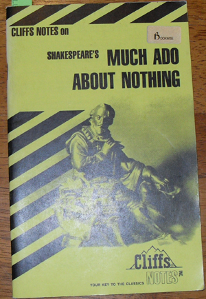 Image for Cliffs Notes on Shakespeare's Much Ado About Nothing