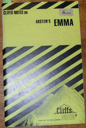 Image for Cliffs Notes on Austen's Emma