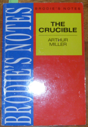 Image for Brodie's Notes: The Crucuble, Arthur Miller