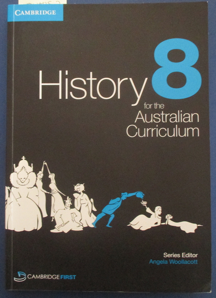 Image for History 8 for the Australian Curriculum (Cambridge First)