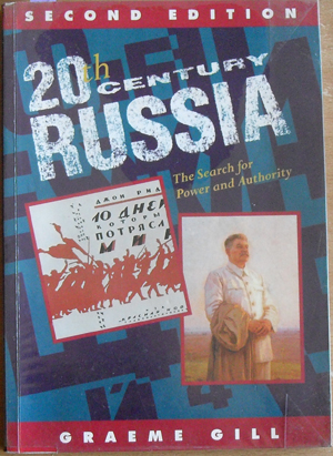 Image for 20th Century Russia: The Search for Power and Authority