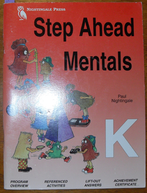 Image for Step Ahead Mentals: K