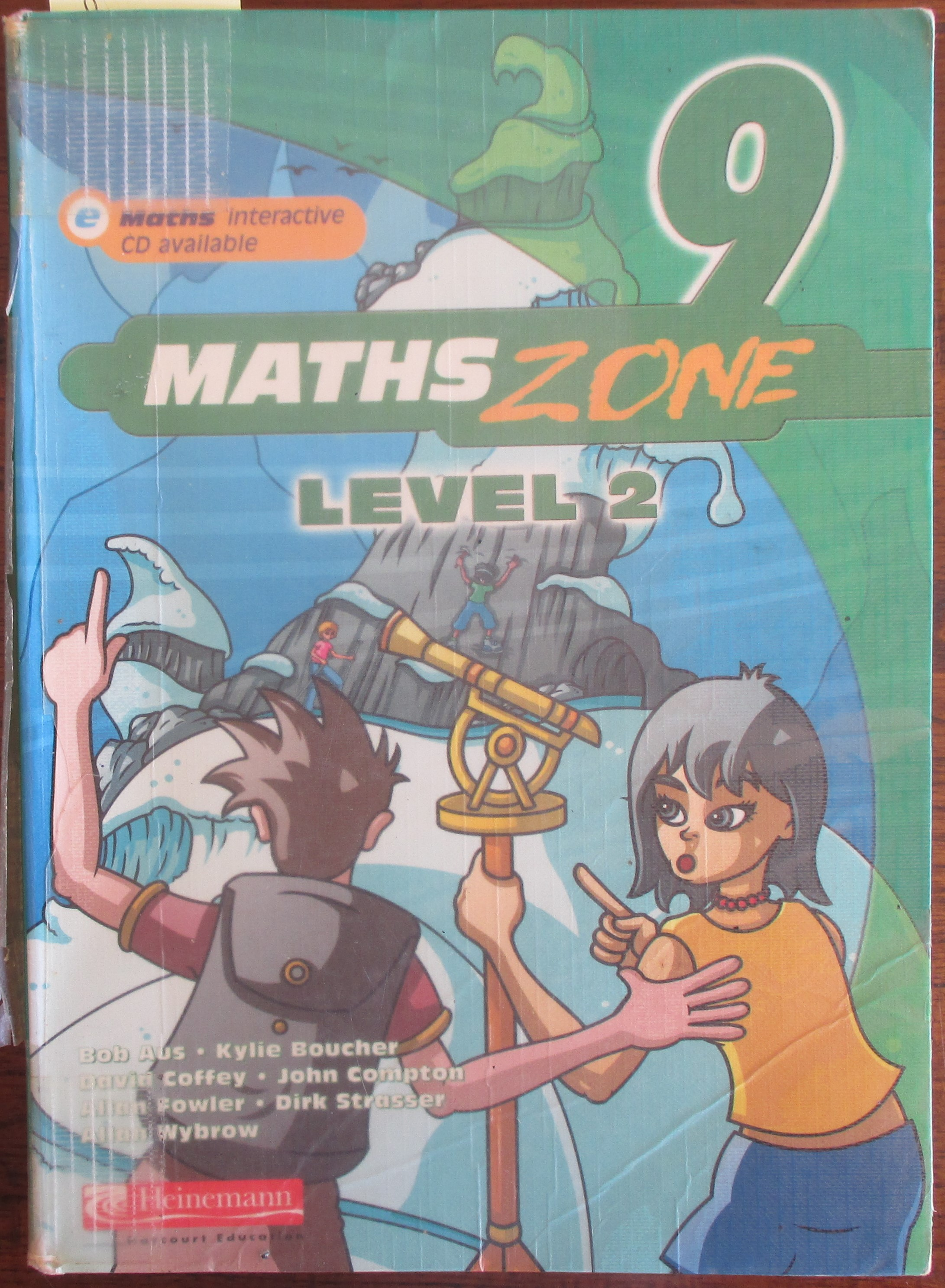 Image for Maths Zone 9: Level 2