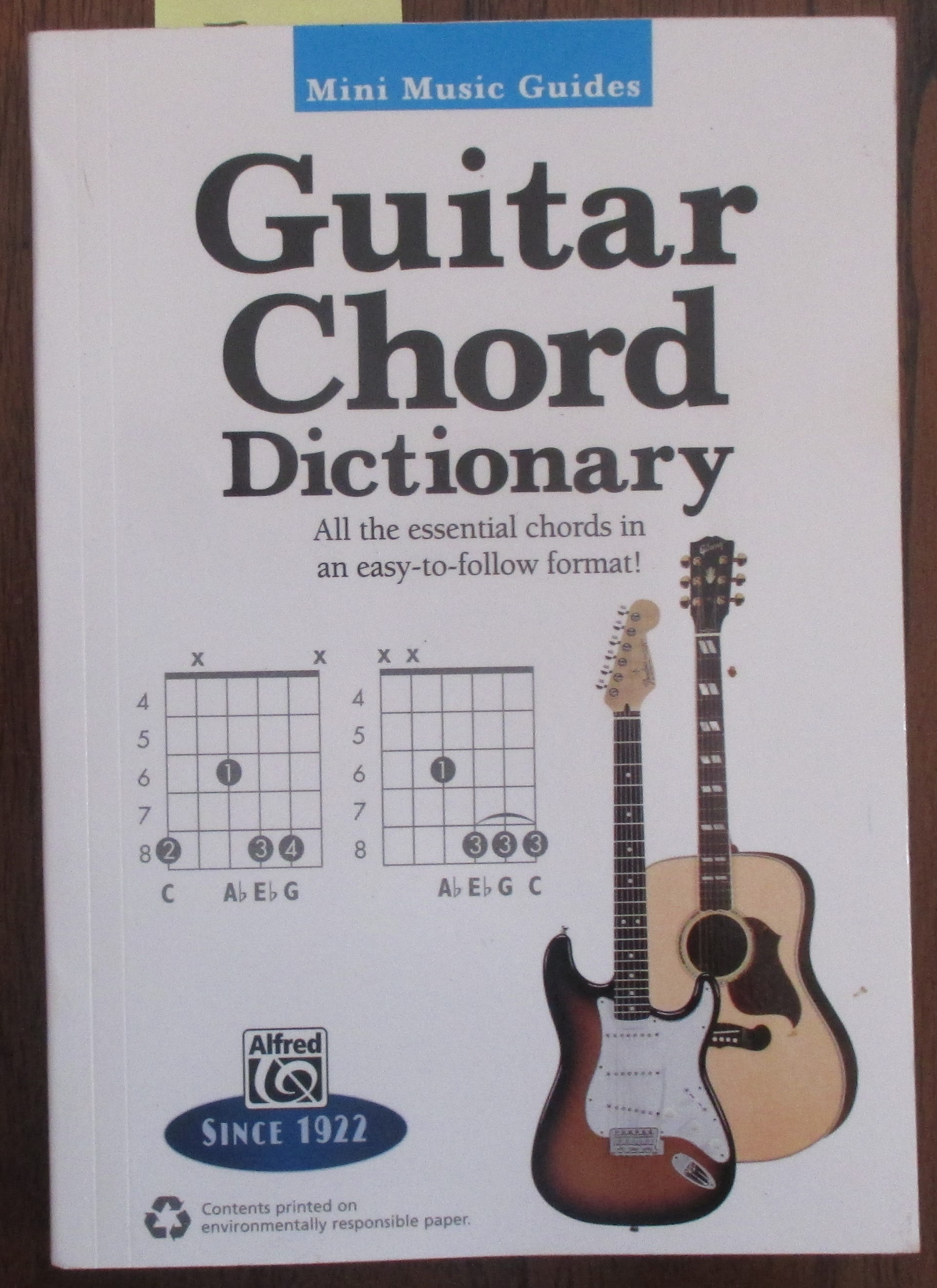 Image for Guitar Chord Dictionary: Mini Music Guides