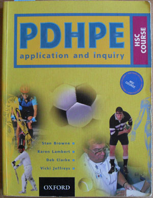 Image for PDHPE Application and Inquiry: HSC Course