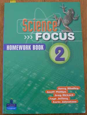 Image for Science Focus: Homework Book 2