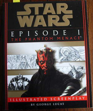 Image for Star Wars Episode 1 - The Phantom Menace - Illustrated Screenplay