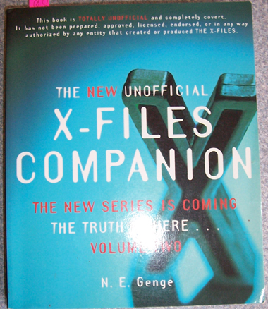 Image for New Unofficial X-Files Companion, The