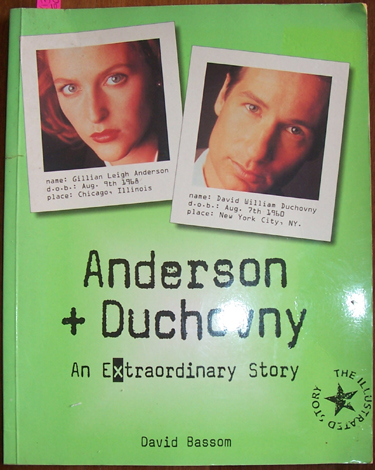 Image for Anderson and Duchovny: An Extrodinary Story