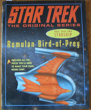 Image for Star Trek: Make Your Own Starpship - Romulan Bird-of-Prey (The Original Series)