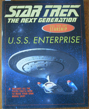 Image for Star Trek: Make Your Own Starship - U.S.S. Enterprise (The Next Generation)
