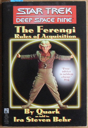 Image for Star Trek: Deep Space Nine - The Ferengi - Rules of Acquisition