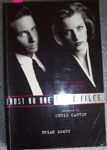 Image for Trust No One: The X Files - The Official Third Season Guide