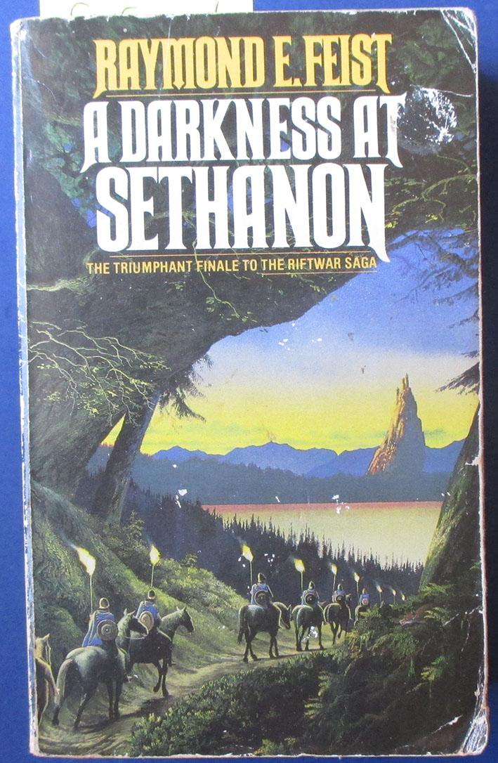 Image for Darkness at Sethanon, A: The Riftwar Cycle (#3)