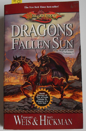 Image for Dragons of a Fallen Sun (Book #1 - The War of Souls)