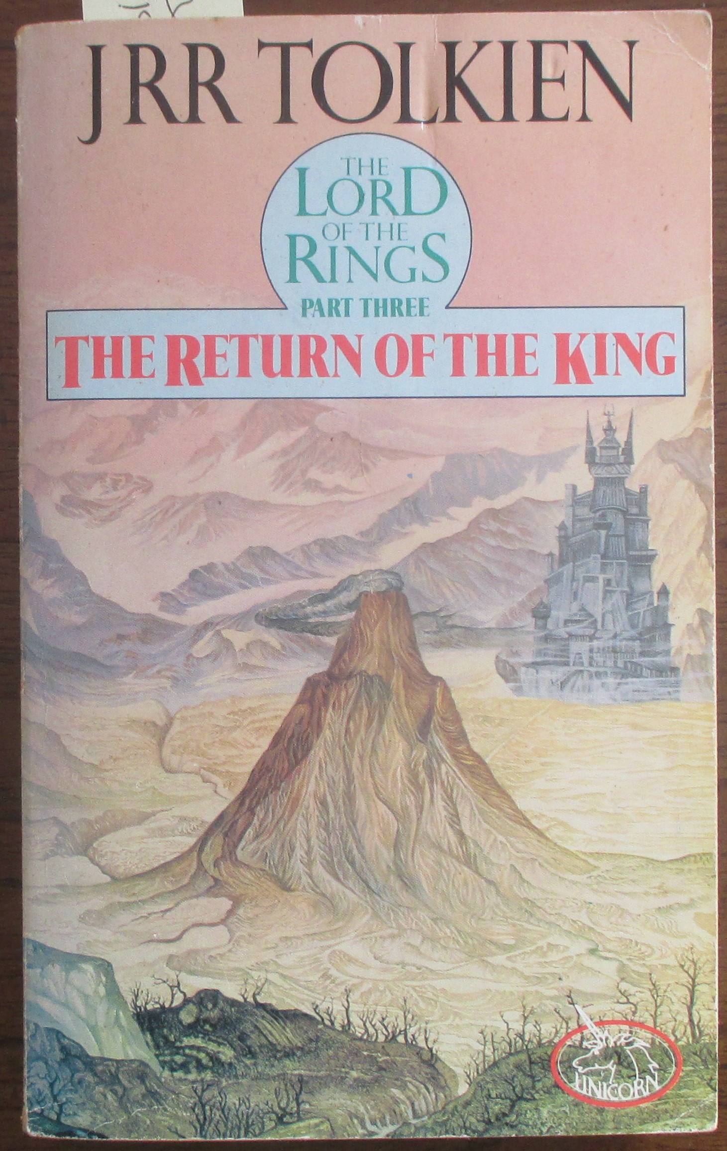 Image for Return of the King, The: The Lord of the Rings (Part 3)