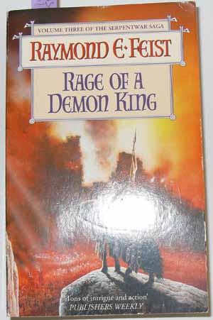 Image for Rage of a Demon King: The Serpentwar Saga (Book #3)