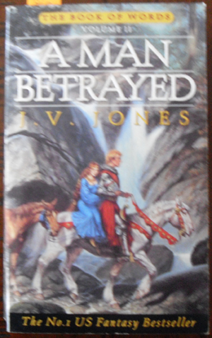 Image for Man Betrayed, A: The Book of Words (Volume 2)