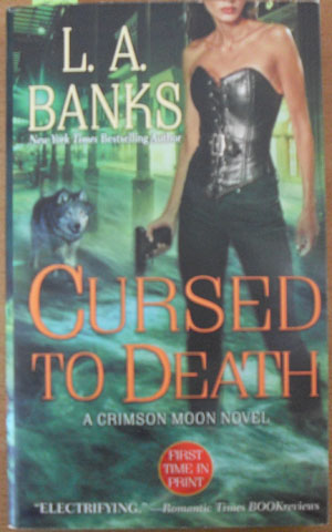 Image for Cursed to Death: A Crimson Moon Novel