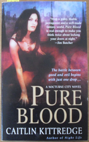 Image for Pure Blood: A Nocturne City Novel