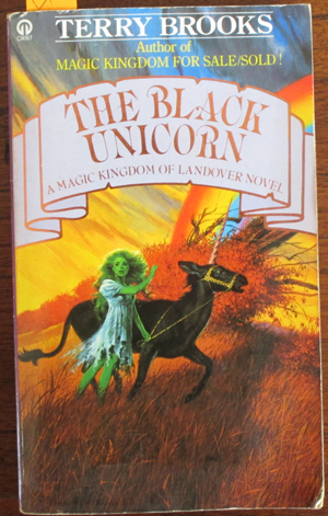 Image for Black Unicorn, The: A Magic Kingdom of Landover Novel