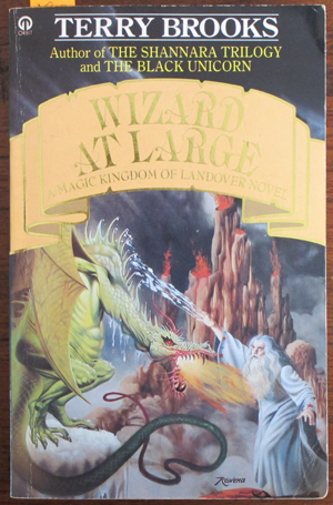 Image for Wizard at Large: A Magic Kingdom of Landover Novel