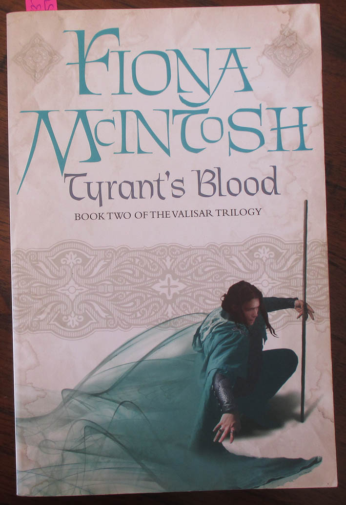 Image for Tyrant's Blood: The Valisar Trilogy (#2)