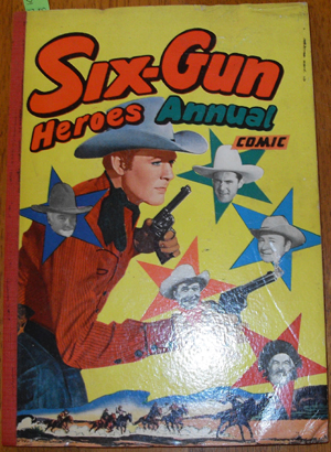 Image for Six-Gun Heroes Annual Comic