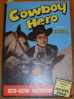 Image for Cowboy Hero Comic Annual