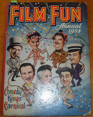 Image for Film Fun Annual 1954