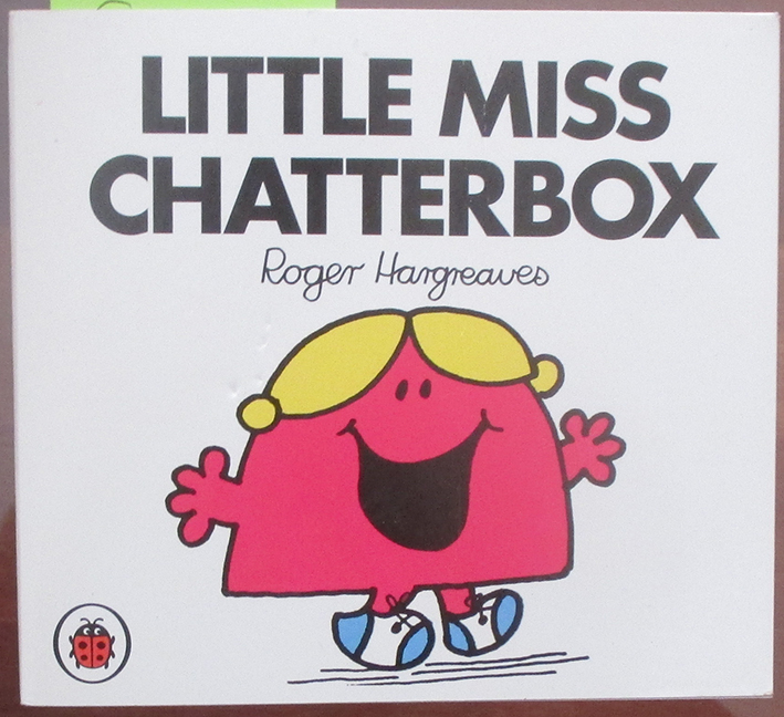Image for Little Miss Chatterbox