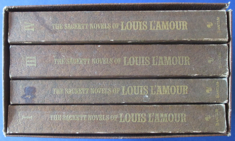 Image for Sackett Novels of Louis L'Amour, The (Boxed Set of 4 Books)