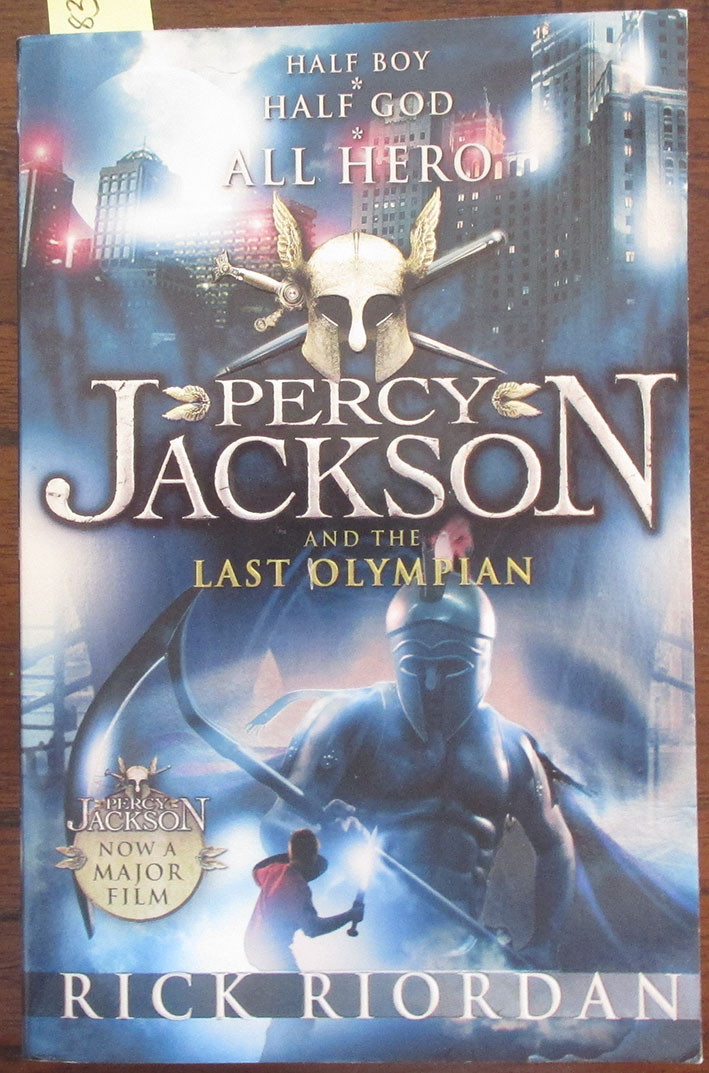 Image for Percy Jackson and the Last Olympian: Percy Jackson & the Olympians (#5)
