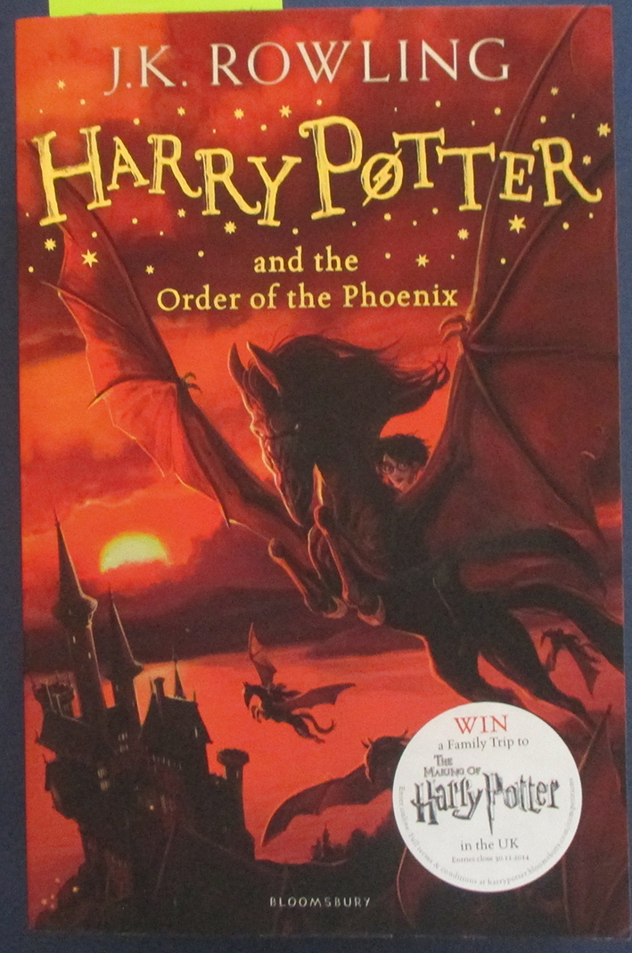 Image for Harry Potter and the Order of the Phoenix: Book #5
