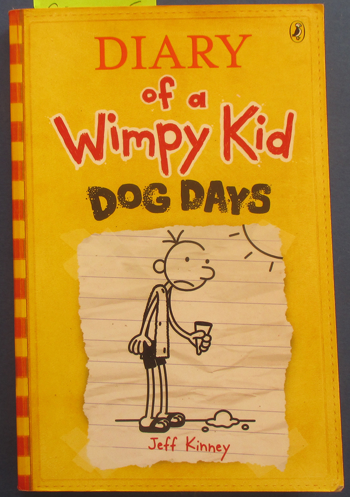 Image for Dog Days: Diary of a Wimpy Kid #4