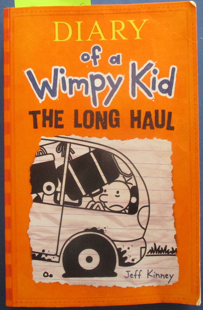 Image for The Long Haul: Diary of a Wimpy Kid (#9)