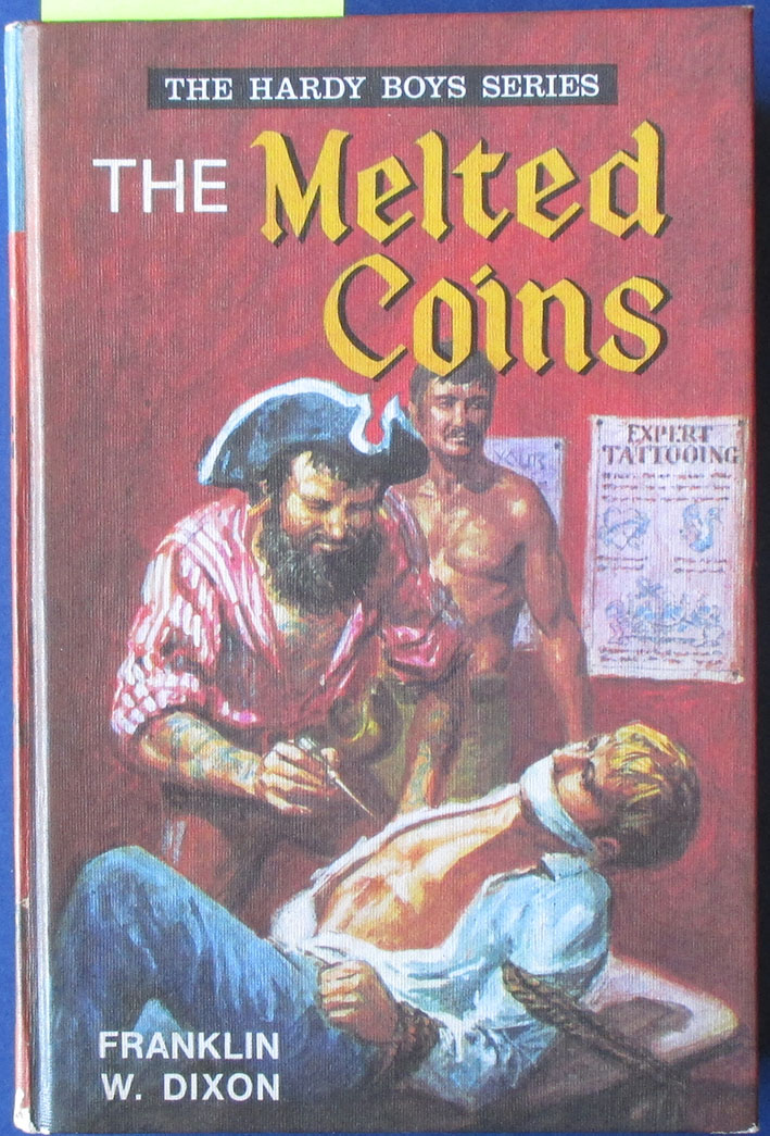 Image for Melted Coins, The: The Hardy Boys Series #7