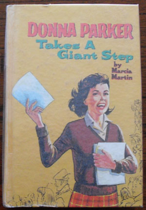 Image for Donna Parker Takes a Giant Step