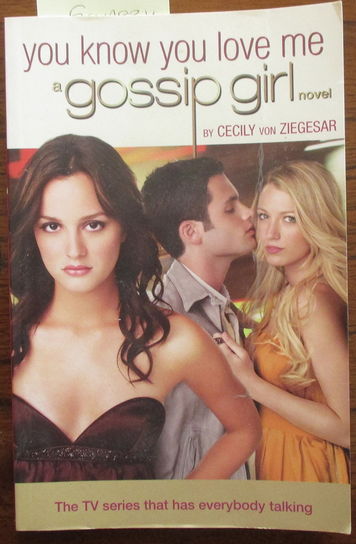 Image for You Know You Love Me: Gossip Girl #2