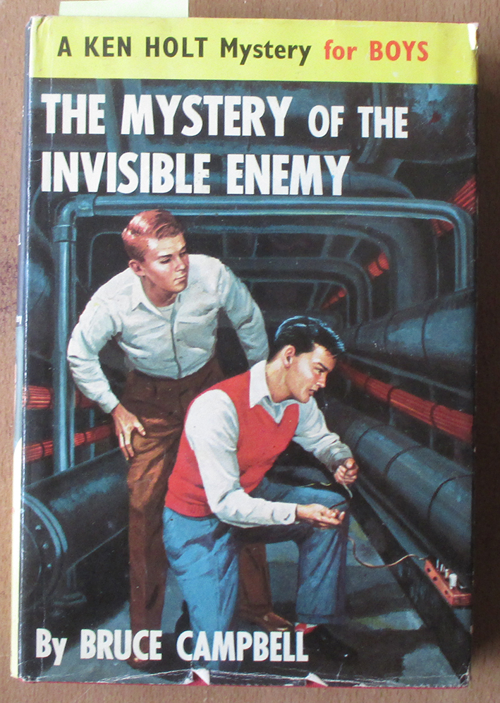 Image for Mystery of the Invisible Enemy, The: A Ken Holt Mystery for Boys
