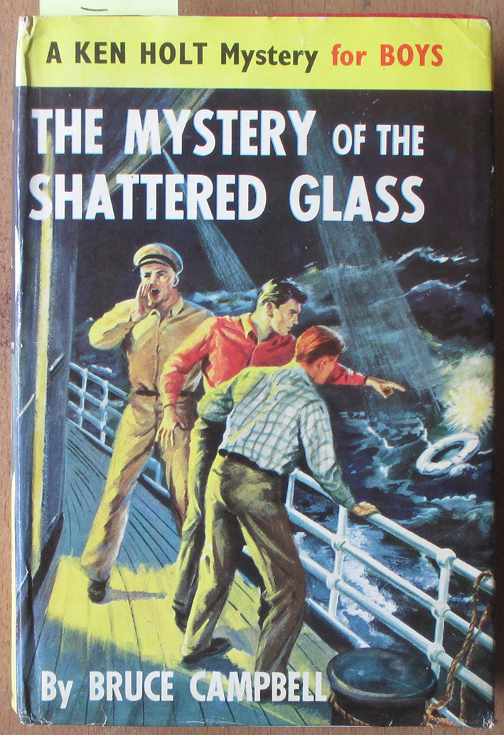 Image for Mystery of the Shattered Glass, The: A Ken Holt Mystery for Boys